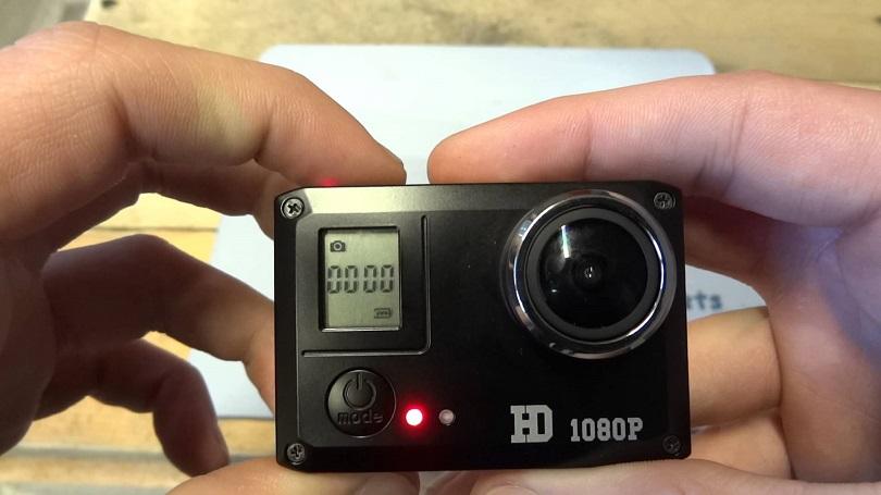 Устройство Amkov 1080P Amkov SJ5000 отличается управлением через смартфон
