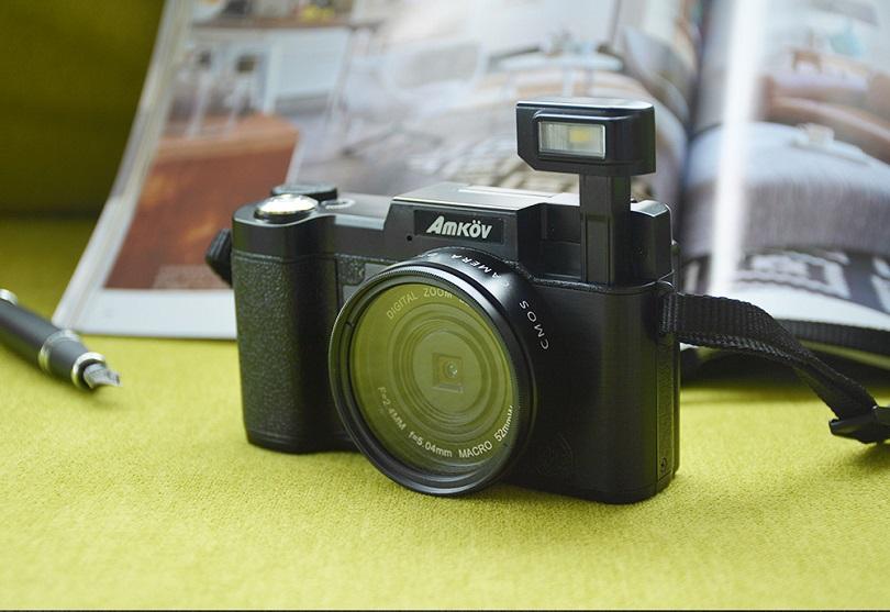 Камера Amkov CDR2 24MP 1080P 4X имеет множество режимов съемки