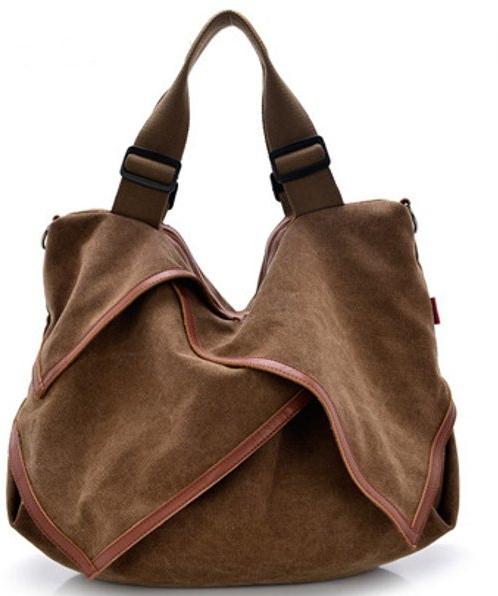 Как правильно составлять комплекты с Canvas Portable Tote Handbags Flower Design Shoulder Bags Crossbody Bags Big Bags