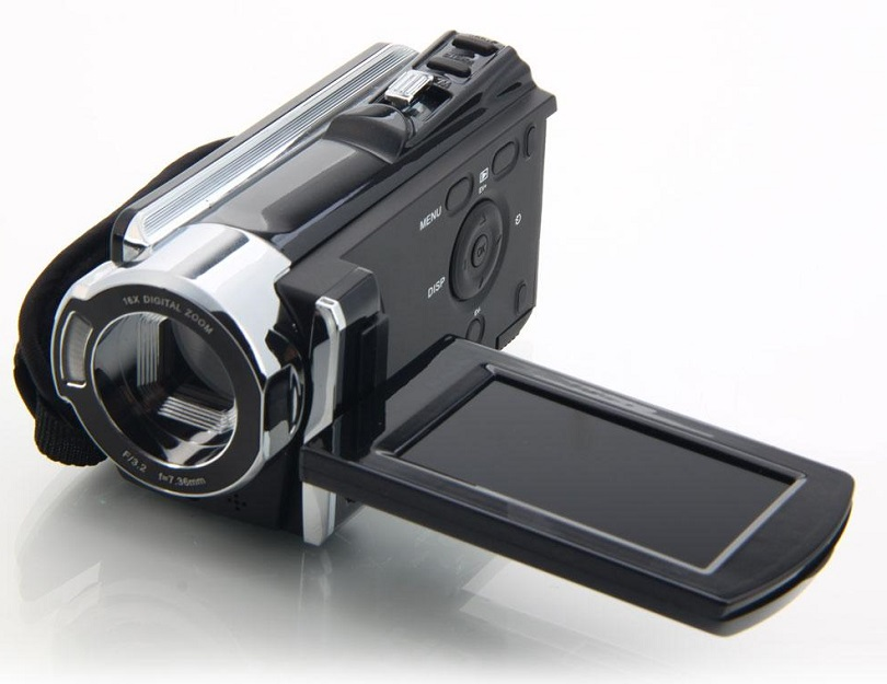 Камера 16 Mp Max 720P HD 16 X Digital Zoom Digital Video Camera обладает емким аккумулятором