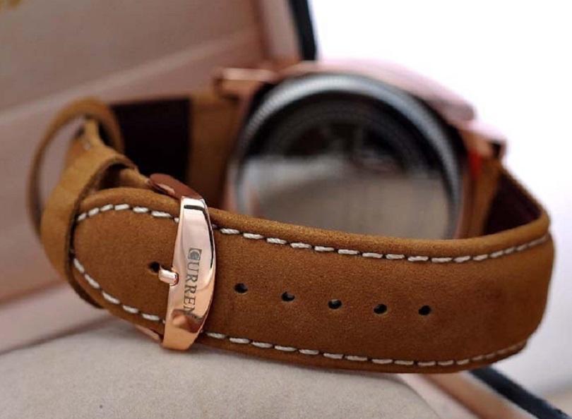 Часы Wrist Curren Man Sport Analog Quartz Fashion Leisure Leather Black Alloy предлагаются в семи разных цветовых вариациях