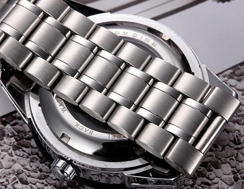 Часы Men Watch Tevise 8378 Stainless Steel Automatic Mechanical Countdown обладают условной сопротивляемостью к воде