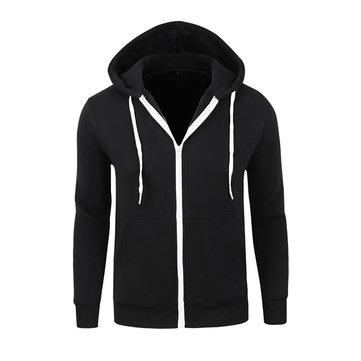 Обзор толстовки Mens Casual Zipper Hoodies Solid Color Outdoor Sport Autumn Winter
