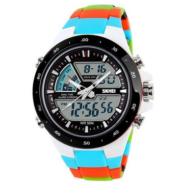 Технические характеристики часов SKMEI AD1016 Analog Digital Multi-function Waterproof Men Sport Wrist