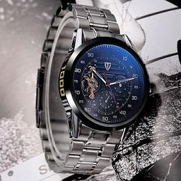 Часы Men Watch Tevise 8378 Stainless Steel Automatic Mechanical Countdown доступны для покупки