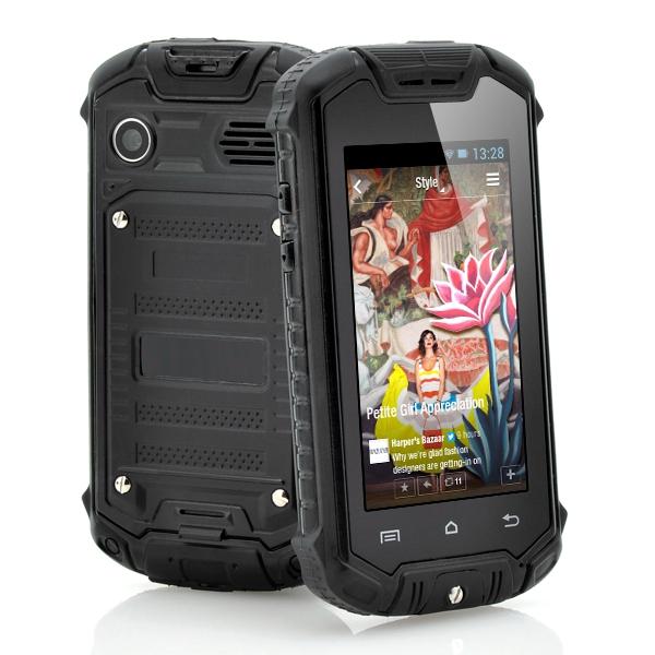 Обзор технических характеристик мобильного телефона Mini Z18 2.45-inch Android 4.0 MTK6572 IP53 Waterproof Outdoor