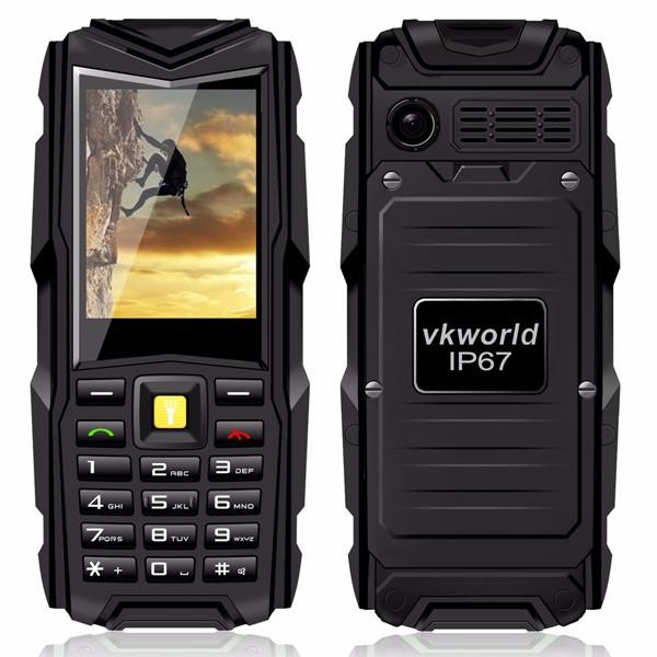 Обзор функциональных возможностей мобильного телефона Vkworld Stone V3 5200mAh Waterproof Dustproof Dropproof Dual SIM Mobile