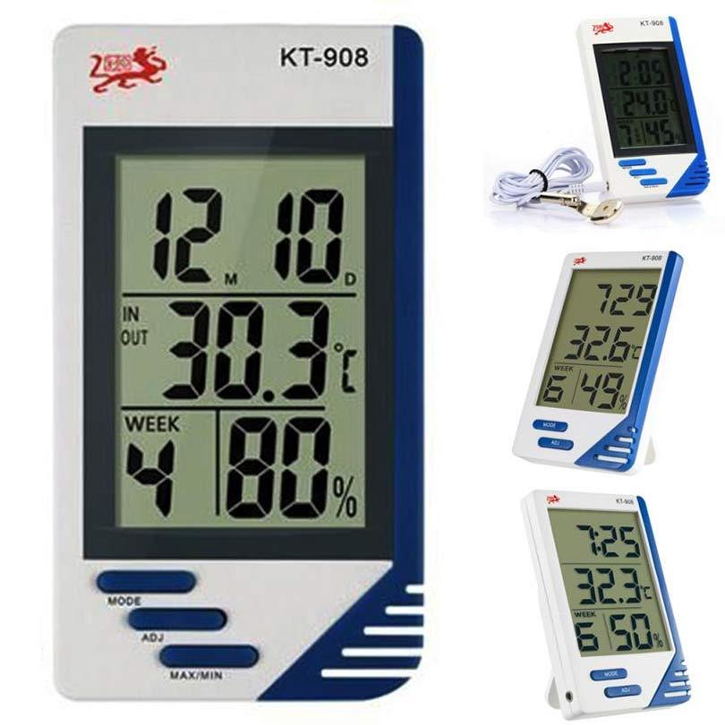 Электронный термометр с большим дисплеем