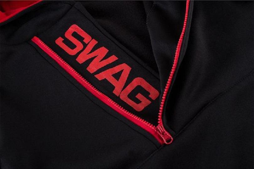 С чем носить толстовку Mens Side Zipper Hoodies Mens Jersey Sports Outdoor Turn Down Collar