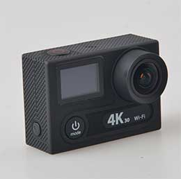 Самой интересной фишкой EKEN H8 PRO является то, что она снимает видео в разрешении 4К со скоростью 30 кадров в секунду. Если разрешение уменьшить до 2.7К, то скорость увеличится до 60 кадров в секунду.