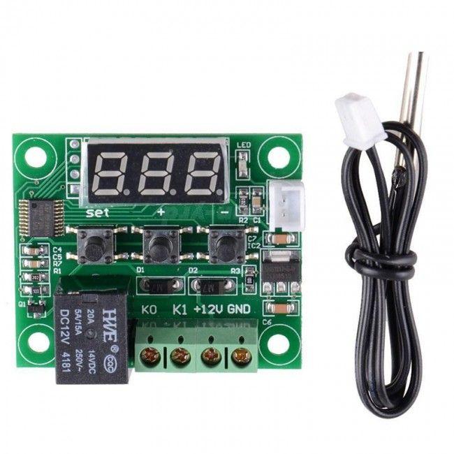 Правильная настройка терморегулятора W1209