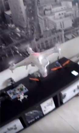 Как правильно произвести Запуск квадрокоптера Syma X5C и его последующее отключение