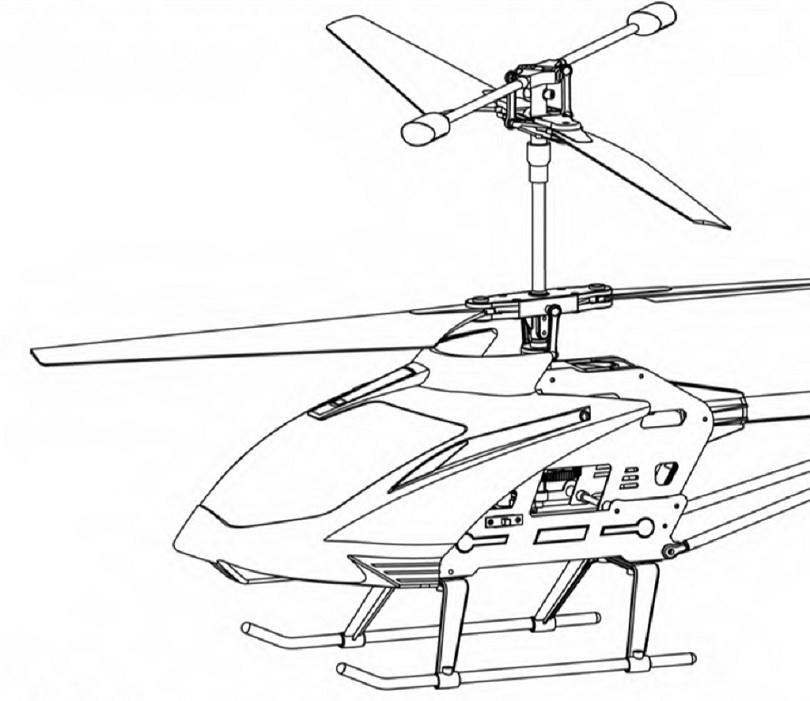 Инструкция для радиоуправляемого вертолета Syma S33 описывает его подготовку ко взлету