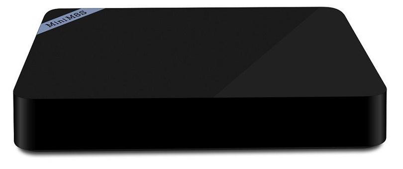 Приставка Mini M8S поставляется со всеми нужными кабелями
