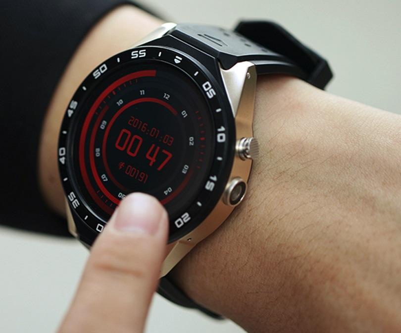 Умные часы Kingwear KW88 хорошо выглядят