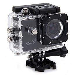 Экшн-камера SJCAM SJ400 Wi-Fi выглядит просто, но стильно
