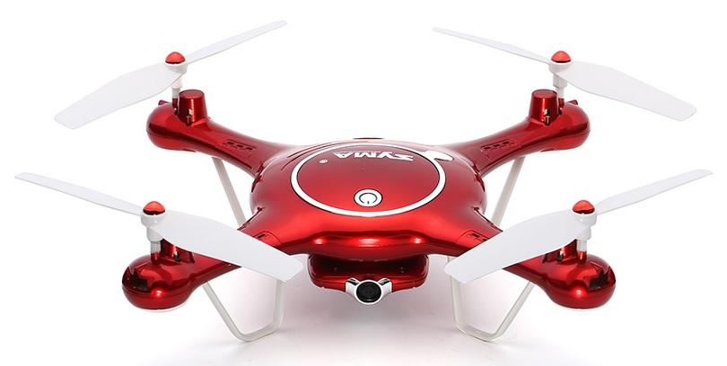 Квадрокоптер Syma X5UW обладает приятным внешним видом
