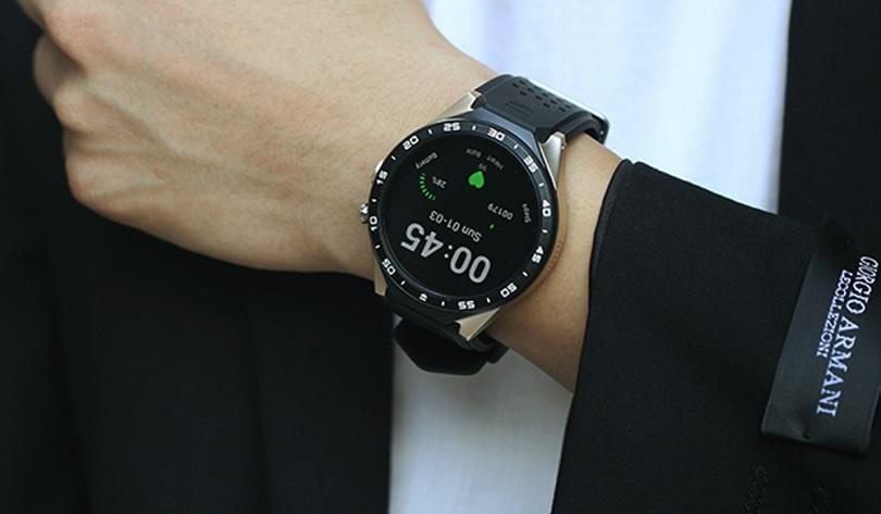 Умные часы Kingwear KW88 обладают не слишком емким аккумулятором