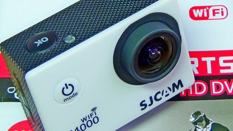 Экшн-камера SJCAM SJ400 Wi-Fi снимает в высоком разрешении