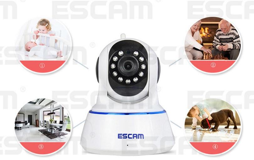 Камера ESCAM qf002 может использоваться практически любым способом