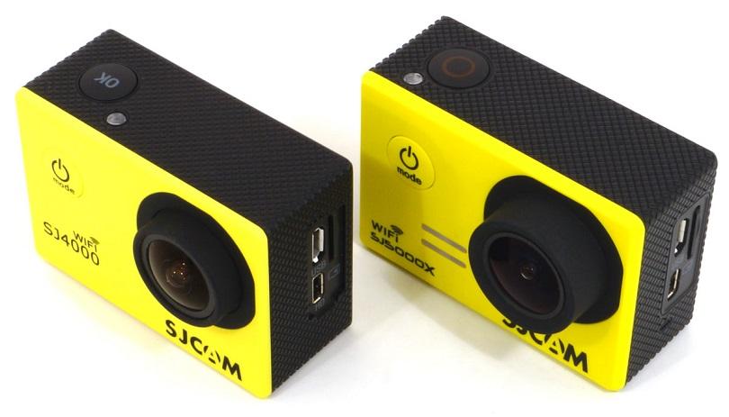 Экшн-камера SJCAM SJ400 Wi-Fi оснащается неплохим и ярким экраном