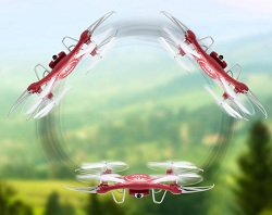 Квадрокоптер Syma X5UW обладает многочисленными полезными функциями