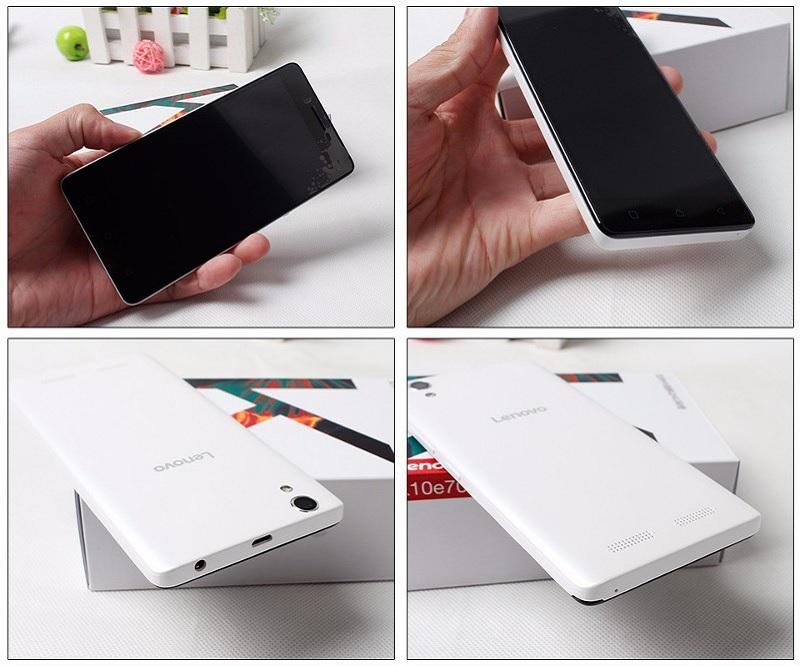 Смартфон Lenovo K10e70 оснащен двумя камерами