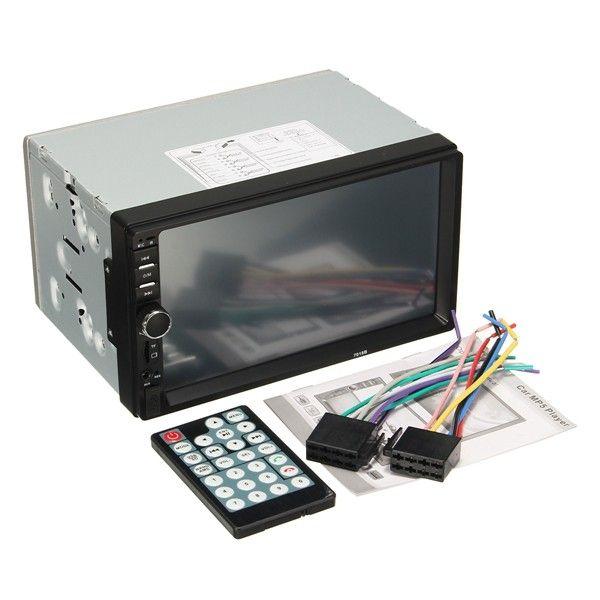 У Car Player MP5 имеется свой Bluetooth, с помощью которого также можно просматривать различные видео-ролики. К тому же на дисплей можно выводить изображение видео-регистратора и камер заднего вида, для более комфортного выезда задом.