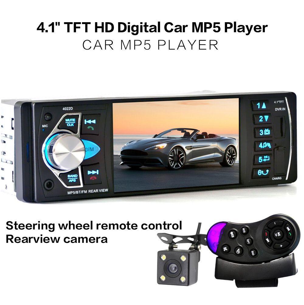 При поддержке Bluetooth водитель сможет разговаривать по телефону, не занимая им свою руку. Когда поступает звонок на телефон, на экране Car Player MP5 появляется зеленая иконка телефонной трубки, все, что нужно сделать - это нажать на нее и начать разговор.