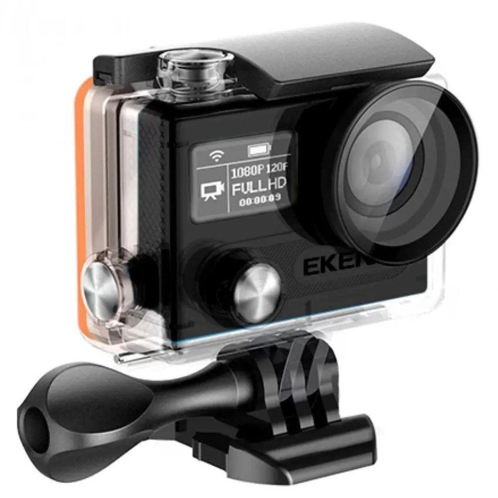 Версия прошивки у камеры EKEN H8R - STD ЕКВКА X8D9AX_160827. Разрешение фотографий равняется 4608 х 2592 пикселя (общее разрешение 12 мегапикселей).