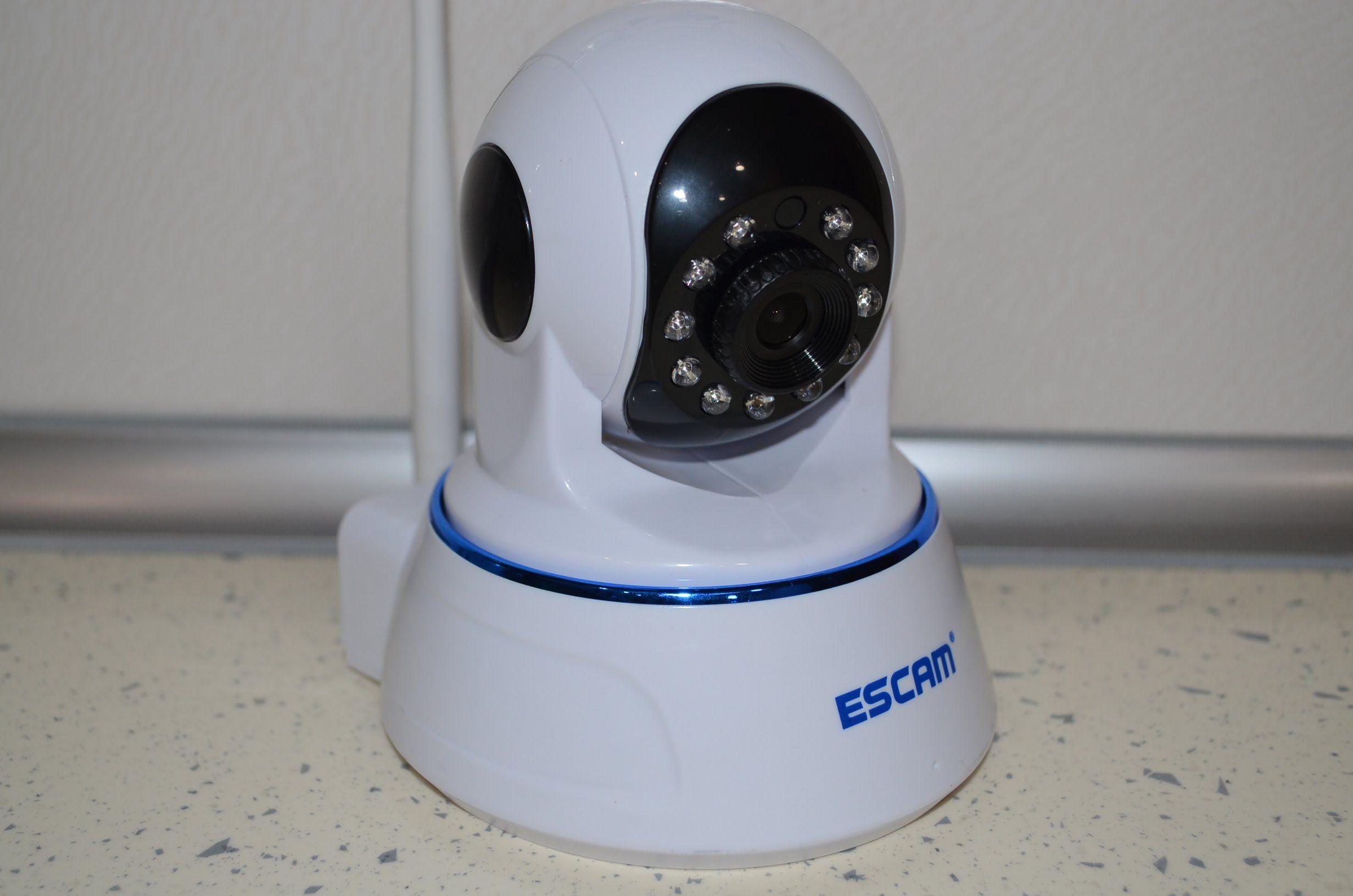 Камера ESCAM qf002 проста в установке