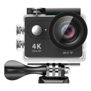 При помощи приложения для Eken H9 можно делать видеозапись, останавливать ее, можно делать фотографии. Выставлять баланс белого, выставлять разрешение во время видео и фото-съемок.