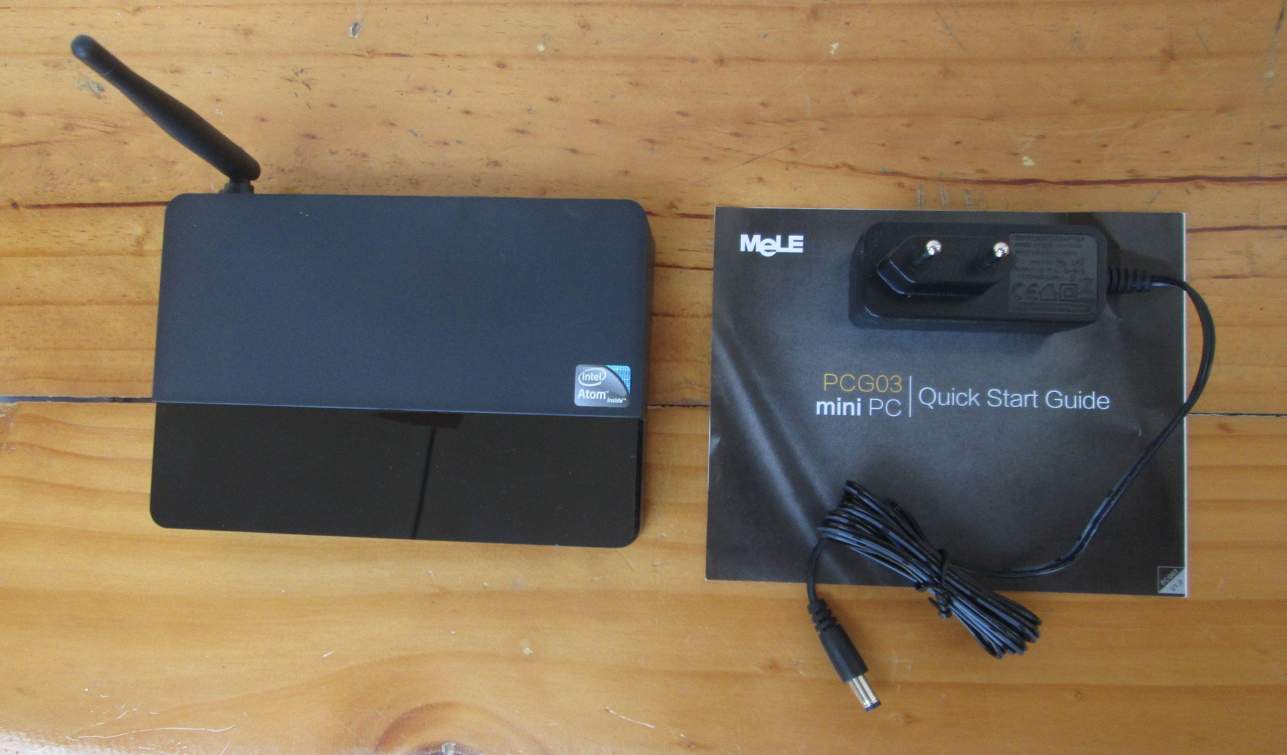 Телевизионная приставка-компьютер Mele PCG03 с процессором Intel Atom серии Z3735F