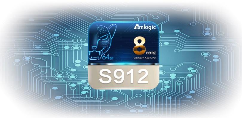Процессор Amlogic S912 отличается высокой производительностью и стабильностью