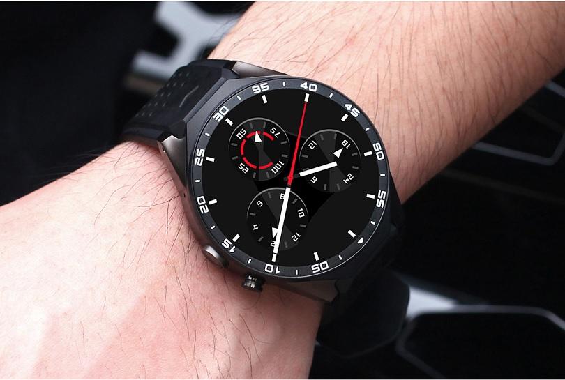 Умные часы Kingwear KW88 отлично выполняют все свои функции