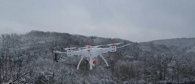 Квадрокоптер Syma X8SW – отличная модель для съемки видео