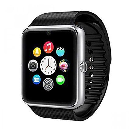 Часами Smart watch GT08 можно звонить отдельно, то есть не обязательно их соединять для этих целей со смартфоном. И надо сказать, связь и слышимость просто великолепные. На расстоянии до 1 метра, собеседник слышит вас без потери качества связи, точно также и вы слышите его отлично.
