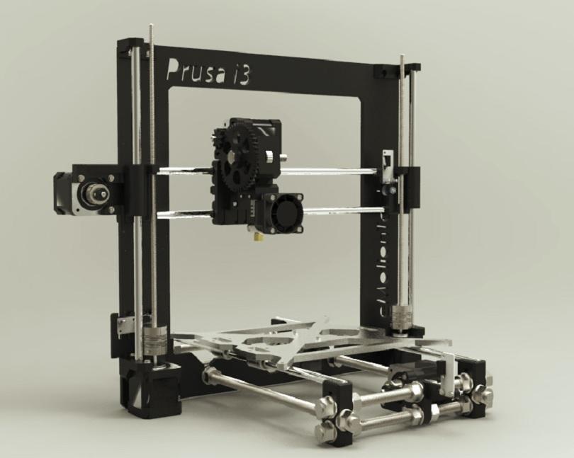 3D принтер Hephestos Prusa i3 удобное устройство