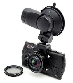 Видеорегистратор-камера Junsun с Ambarella A7LA70 отлично выглядит