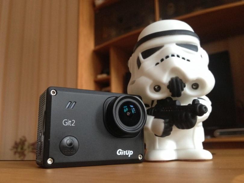 Камера GitUp Git2 визуально мало чем отличается от аналогов