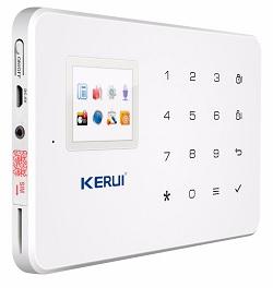 Сигнализация Kerui G18 обладает возможностью программирования