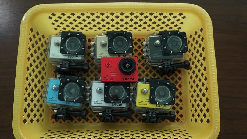 Камера SJCAM SJ500X Elite работает долго