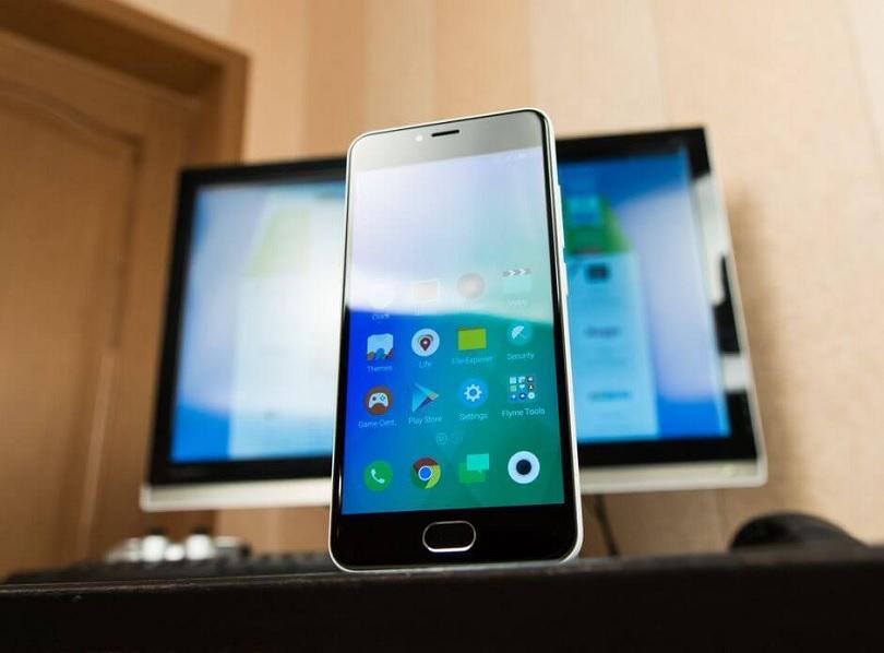 Смартфон Meizu M3 Mini оснащается качественным дисплеем