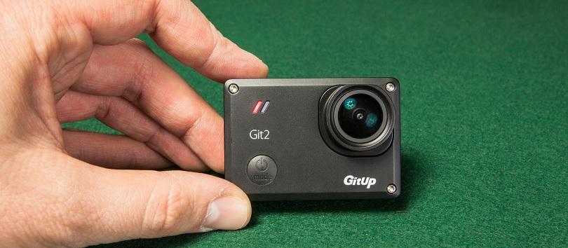 Камера GitUp Git2 подойдет для любой активной съемки