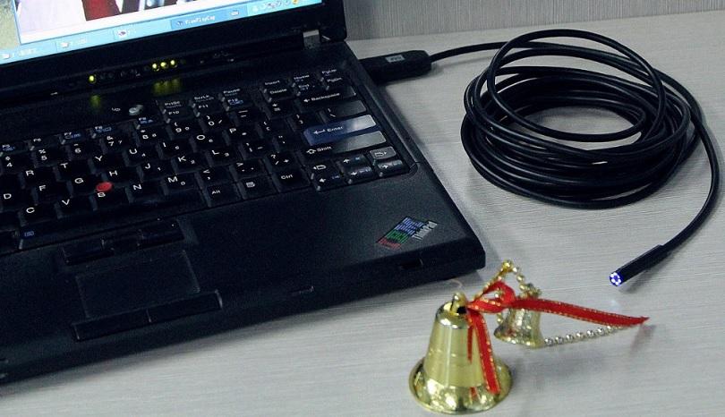 Камера-эндоскоп AN97 удобна для использования в труднодоступных местах