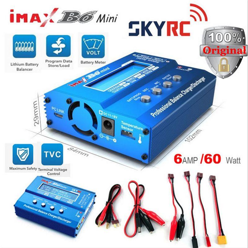 Зарядное устройство Skyrc imax b6 может не только заряжать автомобильные аккумуляторы, но также и восстанавливать их. Одним из самых важных параметров данного устройства является сопротивление аккумулятора - Батты.