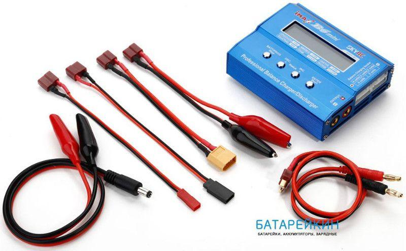Очень удобно данным зарядным устройством skyrc imax b6 мини заряжать маленькие аккумуляторы. Например Саньо. У таких аккумуляторов есть несколько удобств. Например, это цветовая маркировка.