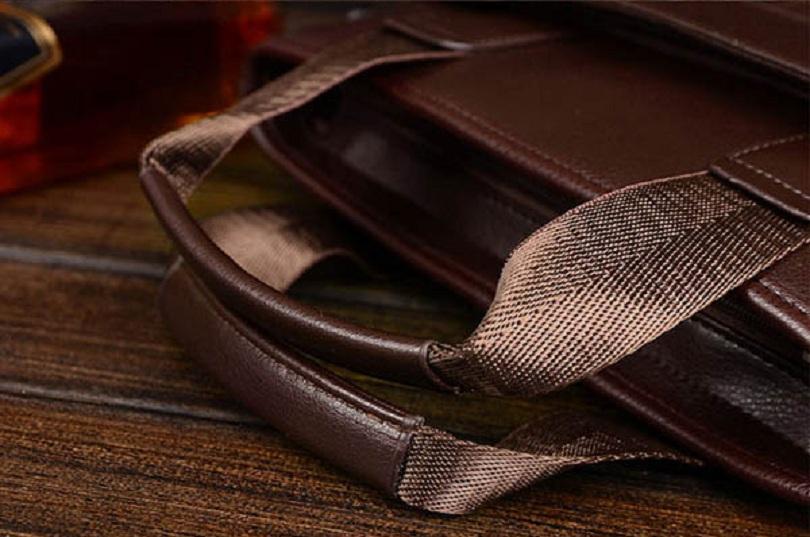 Обзор мужской стильной сумки-почтальонки Men PU Business Casual Black Brown Shoulder Crossbody Bag Handbag