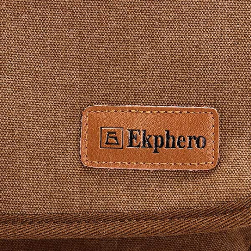 Обзор Ekphero(TM) Multifuctional Casual Leather Cotton Canvas IPad Shoulder