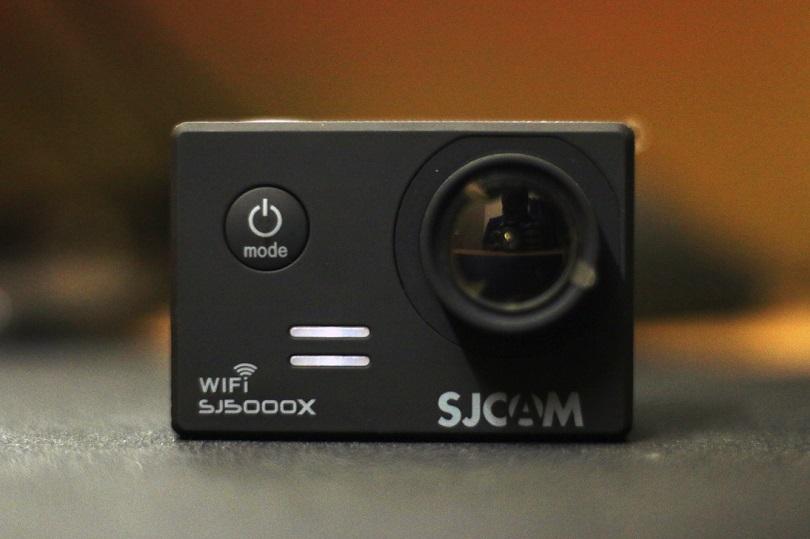 Камера SJCAM SJ500X Elite подходит для активной съемки